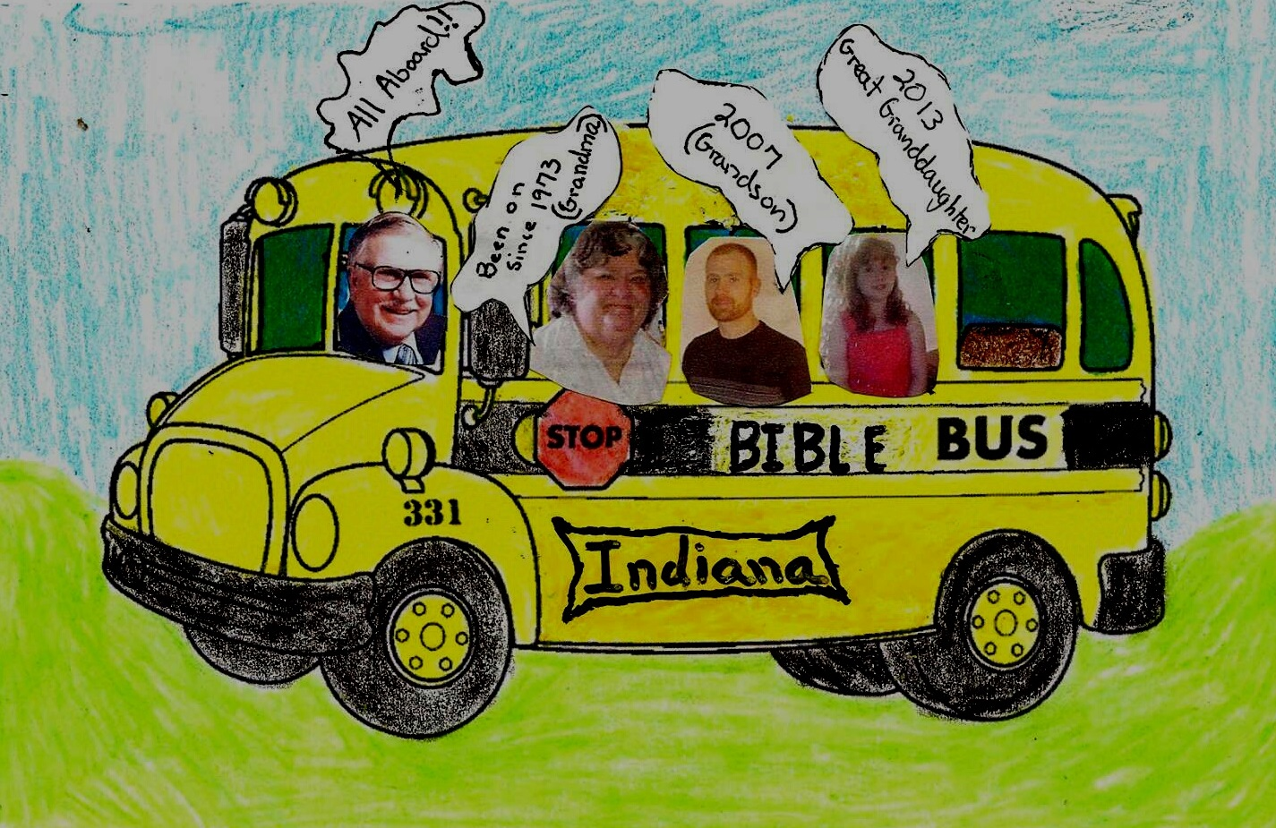 Bible Bus family