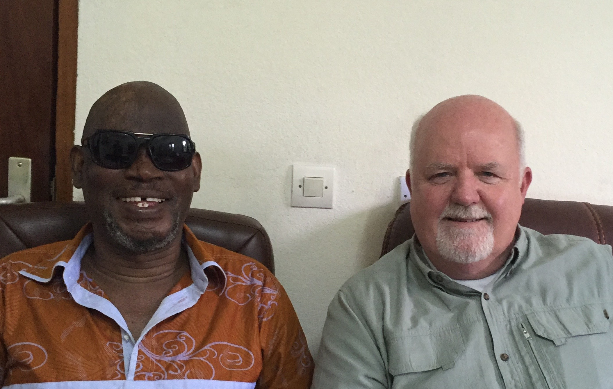 African-French TTB producer, Doh Marcel Monjou, and Joe Fort