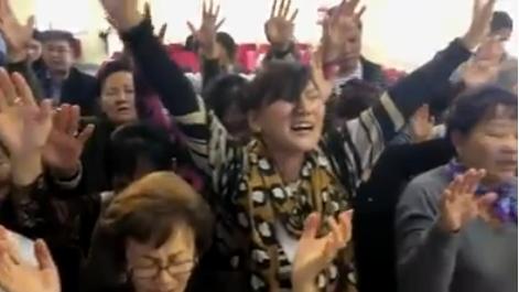 Mongolian woman in video
