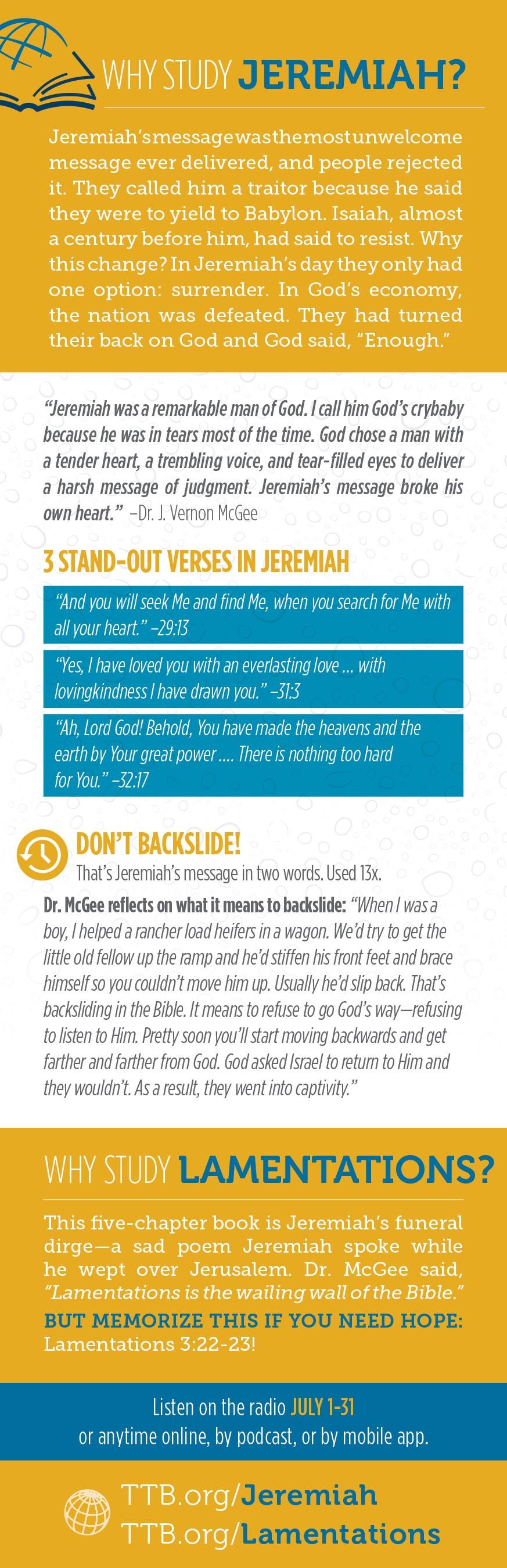 Jeremiah Study Guide